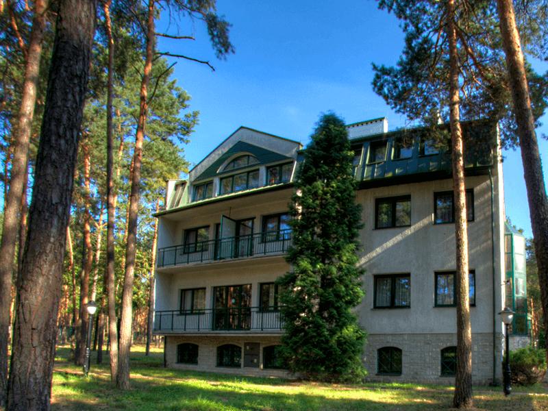 Budynek główny - Hotel Energetyk