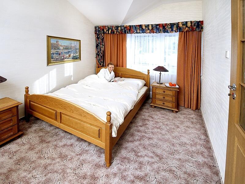 Sypialnia - Hotel Energetyk